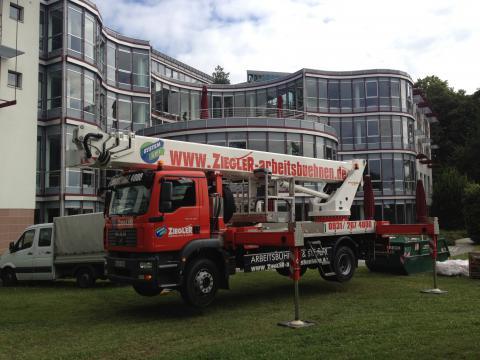 Wartung Deutsche Bundesbank - 42m Hubsteiger