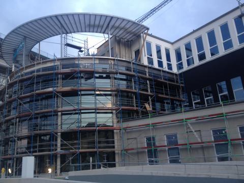 3 Glocken Center in Weinheim - Außenjalousie Raffstore